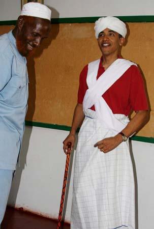 Não tem mais como esconder: Barack Obama NASCEU no Quênia!